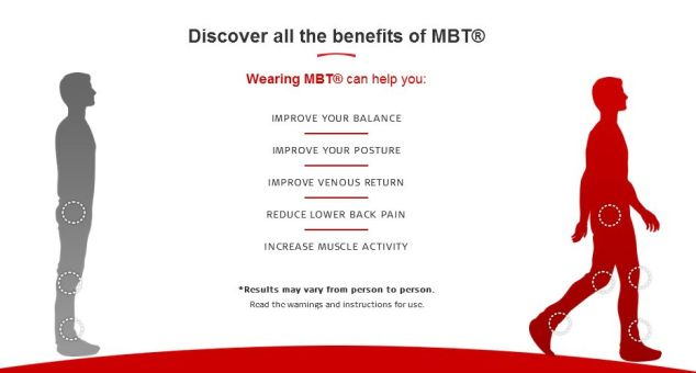 MBT Shoes Benefits