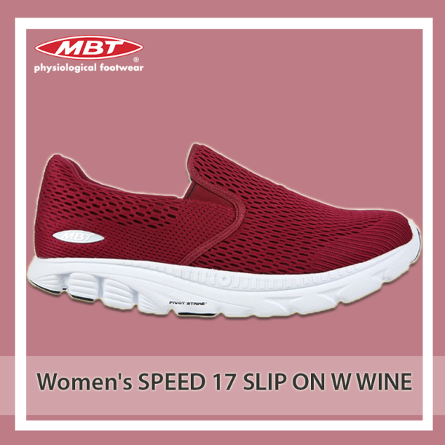 Women's SPEED 17 SLIP ON W WINE